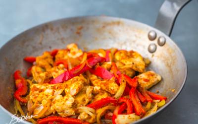 Kyllinge-fajita (200kcal)