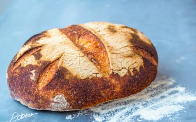 Italiensk inspireret brød med durum-mel
