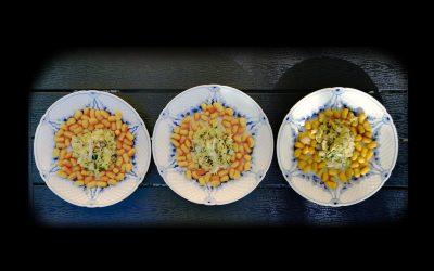 Græskar gnocchetti med squash og frisk hvidløg